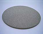 SUS製焼結金属フィルターエレメントの円板