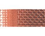 銅金網を焼結処理した焼結金網