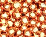 多孔質な銅焼結金属
