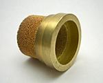 ブロンズ焼結金属フィルターエレメントの同時焼結(防爆フィルター)
